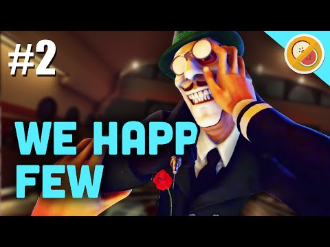 ESCAPING THE ISLAND!! | We Happy Few Gameplay (Let's Play Part 2)
