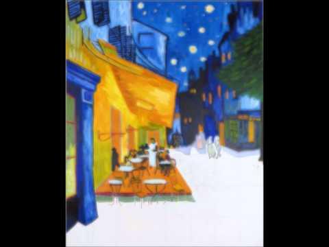 Time Lapse Van Gogh Terrazza Del Caffè La Sera Place Du