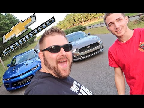 Heel Wife Healthy Snack Clap Back - Face to Face with Luzzi Camaro vs Mustang