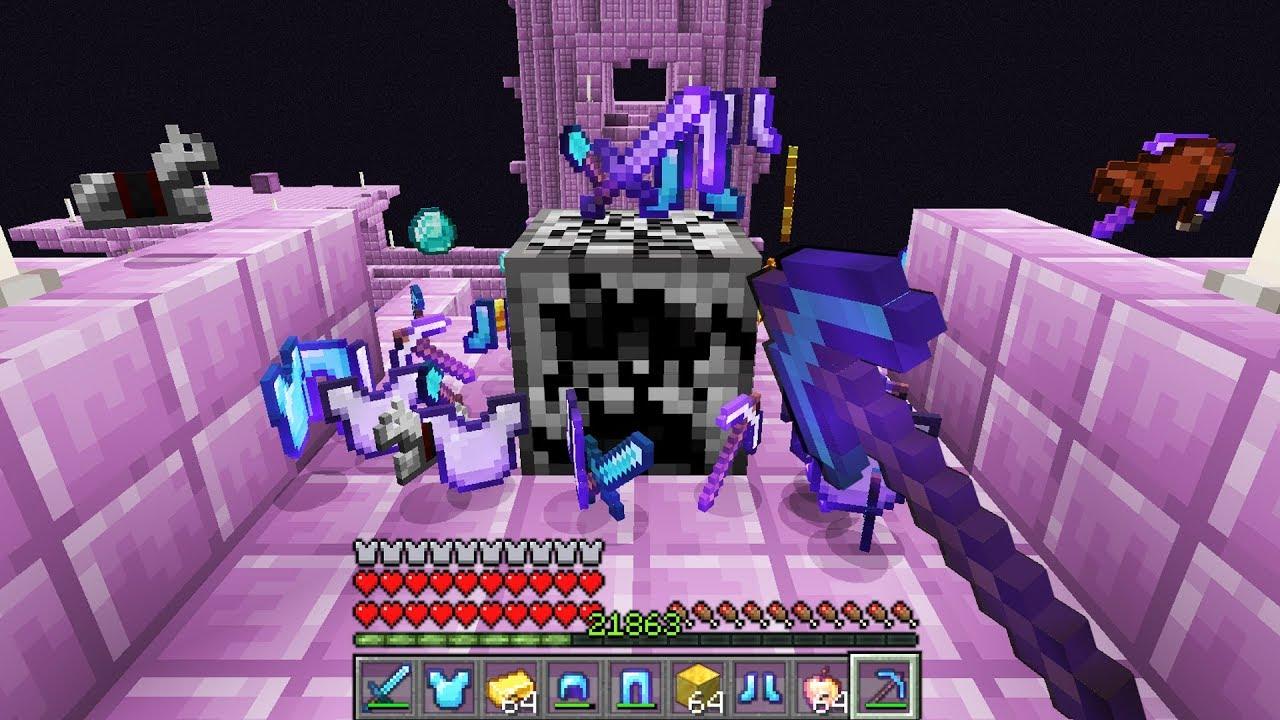 Minecraft UHC but every drop is RANDOM.. again again again again..