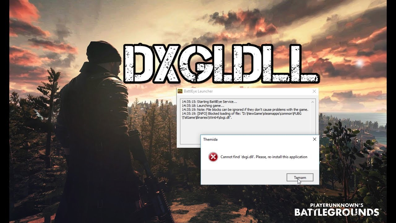 PUBG ''blocked loading of file Hatası Çözümü