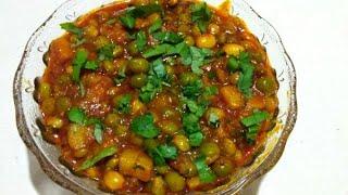 રીંગણ-બટાટા અને દાણાનું મીક્સ શાક | Gujarati Mix Shak | tuvar ringan batata nu shaak