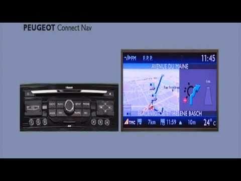 Instellen Peugeot connect nav navigatie systeem