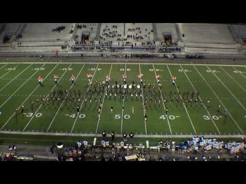 Whitehaven High School Band at Braly Stadium Florence, AL