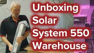Setting up the SolarSystem 550 LED light with California Lightworks