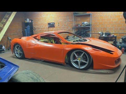 Самодельный Ferrari / Не для слабонервных!