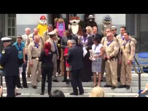 California State Legislative 911 Heroes Awards (5/14/15)