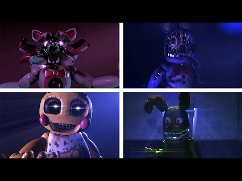 Ultimate Custom Night: All Voice Lines [SFM Five Nights At Freddy's]