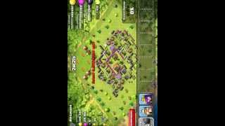 Clash of clans 110 Wall Breaker Attack!!-ClashinWithBoom