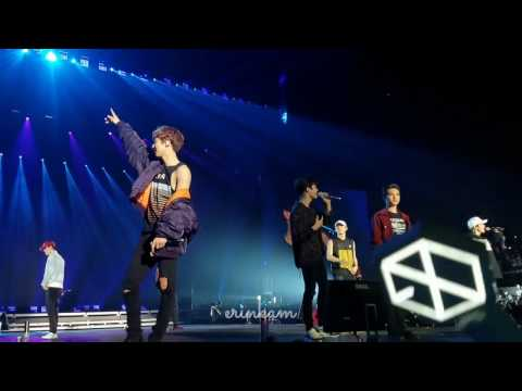 170428 EXO'rDIUM in LA - (Full Perf) Do It Together → Drop That → Let Out the Beast → Run