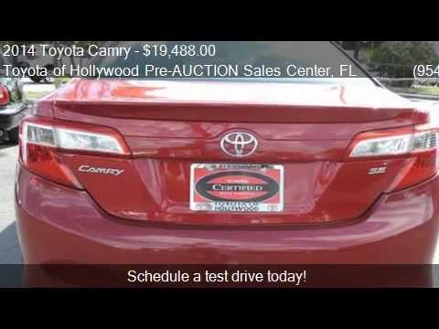 2017 Toyota Camry For In Hollywood Fl 33021 At The To