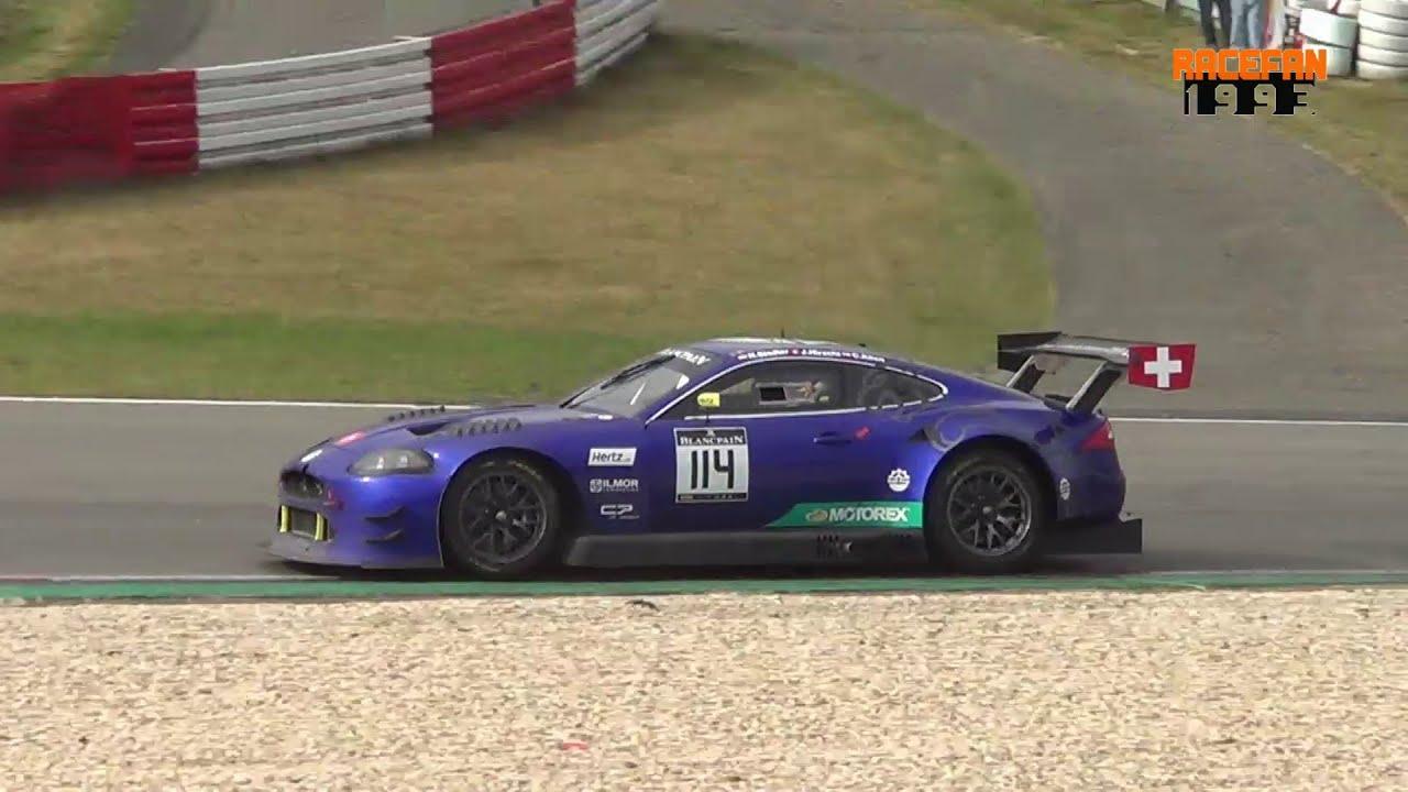 Jaguar XKR G3 Emil Frey Racing BES Nürburgring 2016 - YouTube