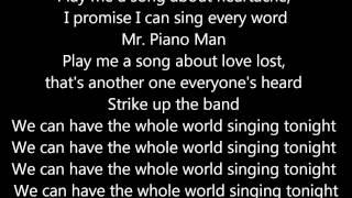 Piano Man by Brandy