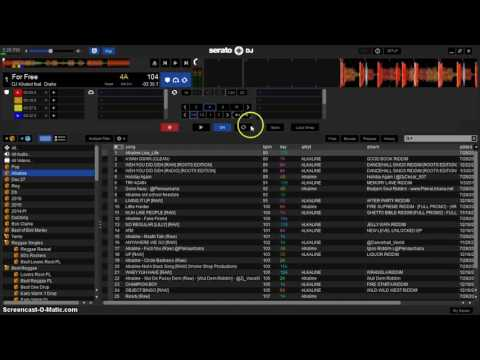use serato flip to add a beat break to a song