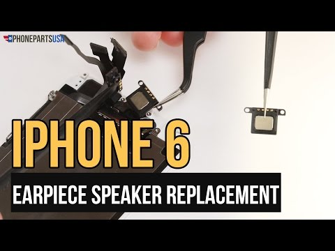 IPhone 6 Earpiece Speaker Replacement Video Guide