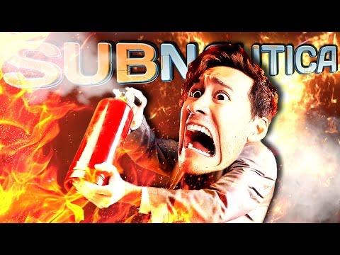 Subnautica   Part 67   FIRE ON THE BRIDGE!!