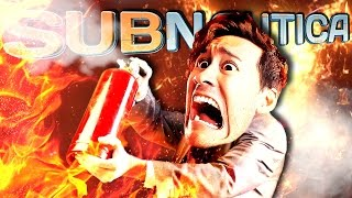 Subnautica | Part 67 | FIRE ON THE BRIDGE!!