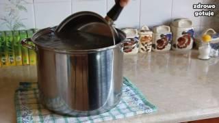 Test metod czyszczenia garnków z osadu - Zdrowo Gotuje odc. 25 #soda #sól #cytryna
