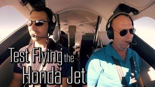 Test Flying the Honda Jet at Oshkosh