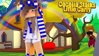 LITTLE CARLY IS STALKED BY THE NEW PRINCESS! (Minecraft Roleplay).