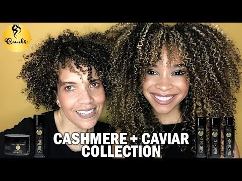 CURLS Cashmere + Caviar Collection | FULL Review/Tutorial