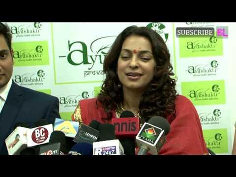 Juhi Chawla inaugurated Ayushakti's first Ayurvedic Franchise Centre in Mumbai