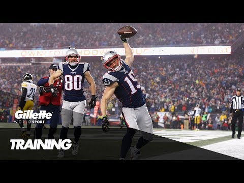 Pre-Season NFL Training with Chris Hogan | Gillette World Sport