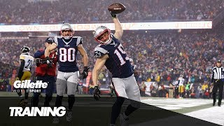 Pre-Season NFL Training with Chris Hogan | Gillette World Sport