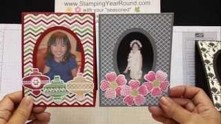 Photo Frame Easel Card