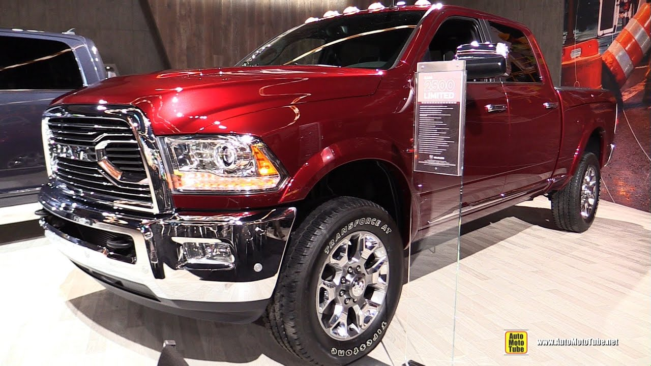 2016 ram 2500 limited heavy duty exterior and interior. Black Bedroom Furniture Sets. Home Design Ideas