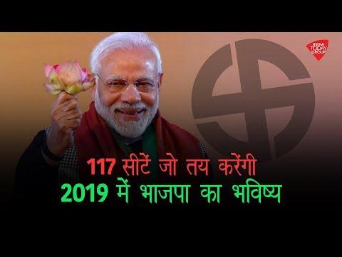 117 Loksabha seats जो तय करेंगी साल 2019 में BJP का भविष्य