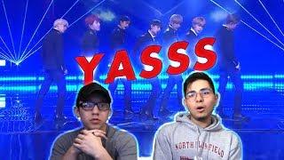 Video GUYS REACT TO BTS 'DNA' (Live Rock ver.) @KBS Song Festival 2017 download MP3, 3GP, MP4, WEBM, AVI, FLV Agustus 2018