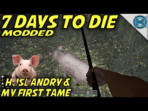 7 Days to Die Modded | Husbandry & My First Tame | MP Let's Play Starvation Mod | Alpha15 E11