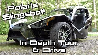 2019 Polaris Slingshot Grand Touring: Start Up, Test Drive & In Depth Tour