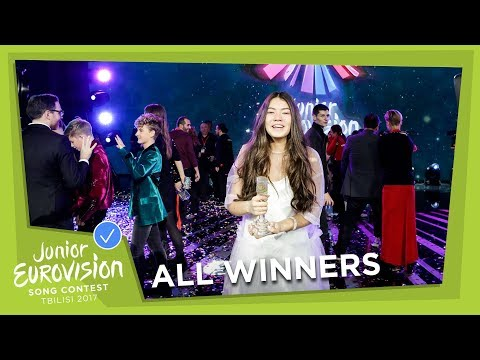 ALL WINNERS OF THE JUNIOR EUROVISION SONG CONTEST! (2003 - 2017)