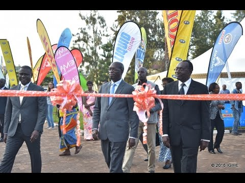 PM. MUREKEZI OPENS MADE IN RWANDA TRADE FAIR