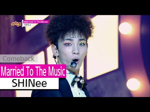 [Comeback Stage] SHINee - Married To The Music, 샤이니 - 매리드 투 더 뮤직, Show Music core 20150808