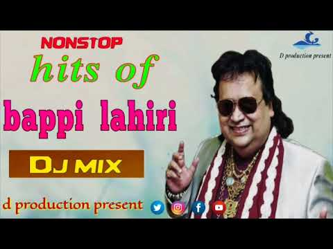 Hits of bappi lahiri | old Hindi dence | audio nonstop DJ | DJ Hb mix  | d production present
