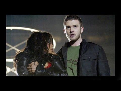 Janet Jackson & Justin Timberlake at Superbowl