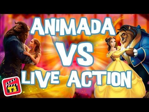 La Bella y La Bestia - ANIMADA VS LIVE ACTION! / Toma 3 / Memo Aponte