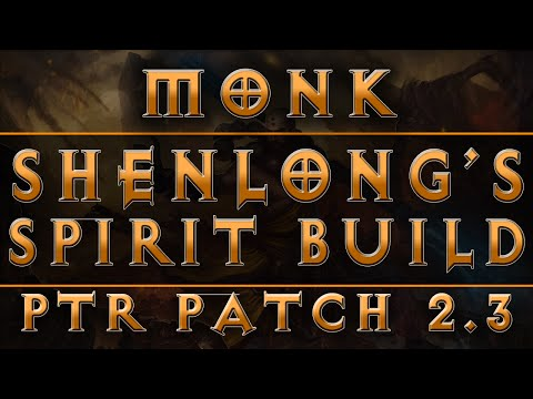 Diablo  Monk Build Shenlong Sunwuko