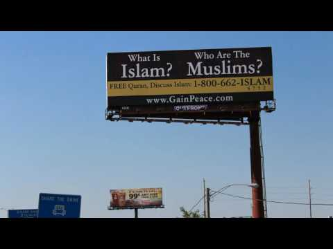 Billboard on Islam to Educate America and Tackle Islamophobia