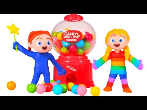 SUPERHERO BABIES & THE MAGIC GUMBALL MACHINE ❤ SUPERHERO PLA