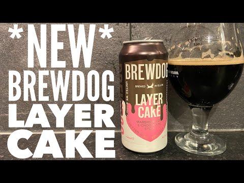 *NEW* Brewdog Layer Cake Marshmallow & Chocolate Stout | British Craft Beer Review
