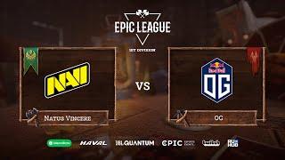 Фото Natus Vincere Vs OG, EPIC League Season 2, Bo3, Game 1 [Jam \u0026 Inmate]