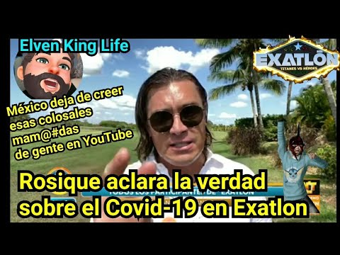 Rosique Aclara la verdad! atletas no tienen Covid-19 en Exatlon México | Desmiente los rumores