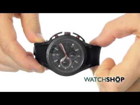 cc0cd7a47c4d Armani Exchange Men s Zero Light Chronograph Watch (AX1401) - YouTube