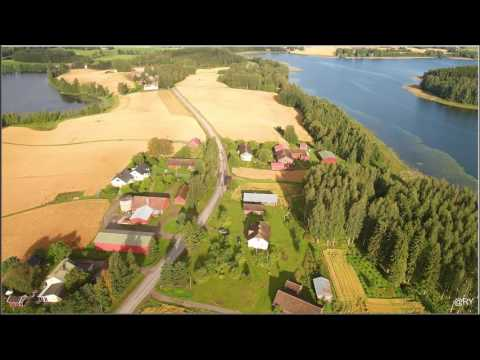 Raikku village. Kangasala Finland 14.8.2016