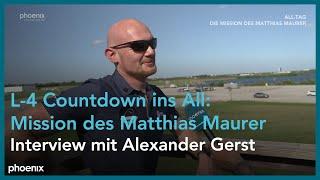 L-4 Countdown ins All: Die Mission des Matthias Maurer (Interview mit Alexander Gerst)