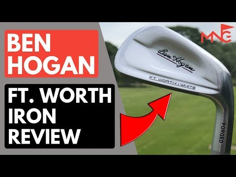 These Irons Surprised Me! Ben Hogan Ft. Worth Irons Review